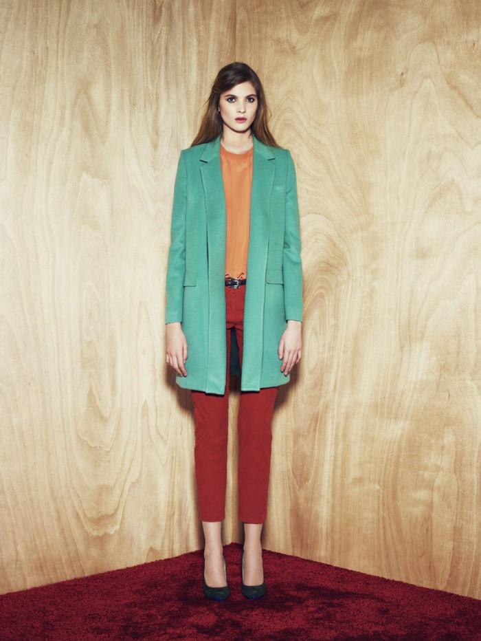 Essentiel Antwerp Vintage inspired colorful winter tones Baroness O.