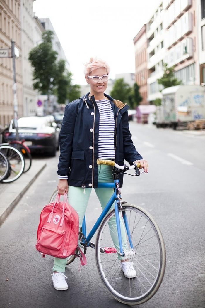 Fjällräven Kanken backpack, Baroness O.