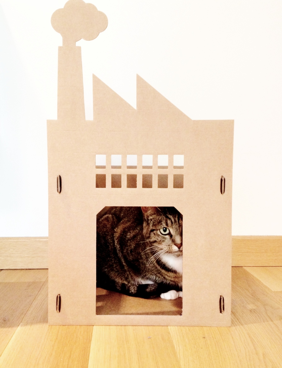 Easy Cardboard Cat House Plans DIY Woodwork Making Plans