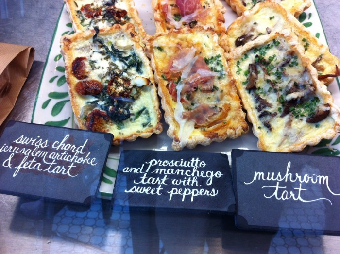 Delicious 'tarts' at Cafe Plenty